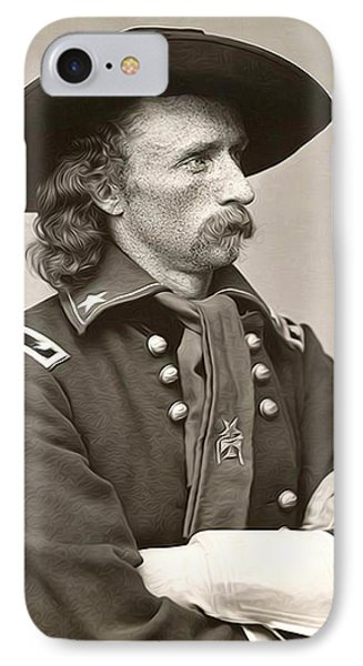 General Custer Phone Case by Bill Cannon