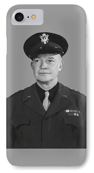General Dwight D. Eisenhower Phone Case by War Is Hell Store