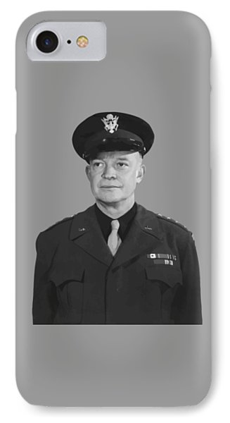 General Dwight D. Eisenhower IPhone Case by War Is Hell Store