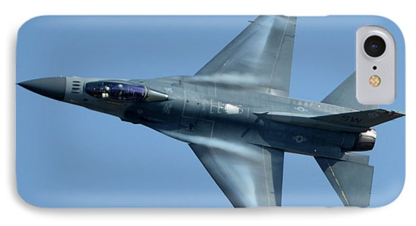 General Dynamics F-16c Block 50d Viper 91-0376 Chino California April 29 2016 Phone Case by Brian Lockett