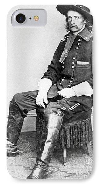 General George A Custer  IPhone Case