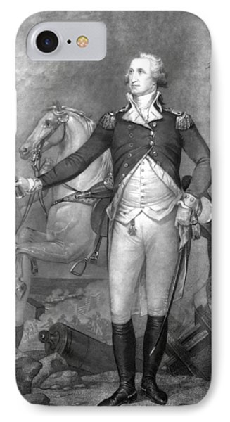 General George Washington At Trenton Phone Case by War Is Hell Store