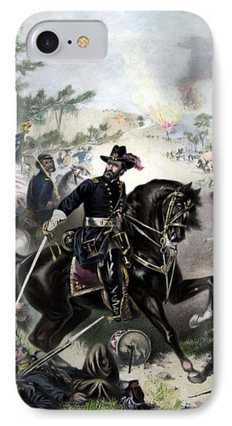 General Grant During Battle Phone Case by War Is Hell Store