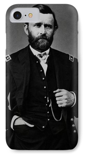 General Grant During The Civil War Phone Case by War Is Hell Store