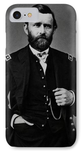 General Grant During The Civil War IPhone Case by War Is Hell Store