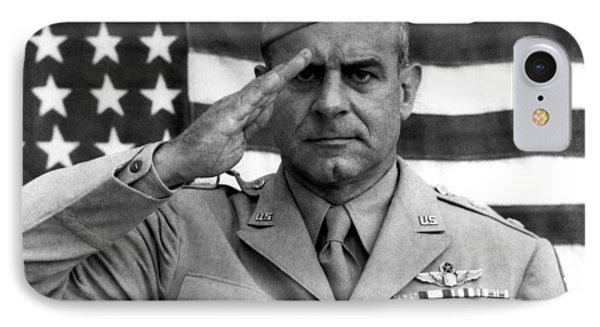 General James Doolittle Saluting IPhone Case by War Is Hell Store