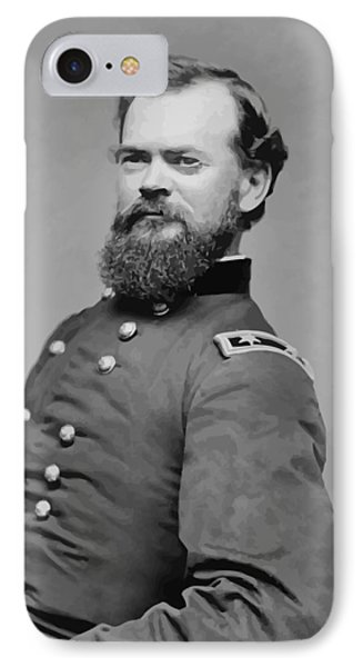 General James Mcpherson  IPhone Case by War Is Hell Store