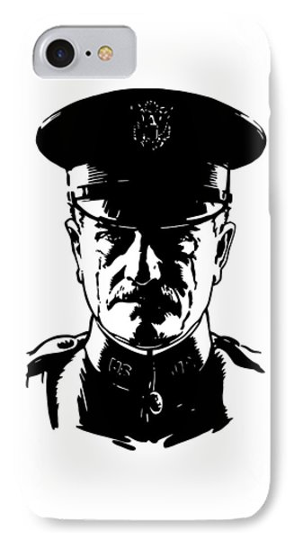 General John Pershing Phone Case by War Is Hell Store
