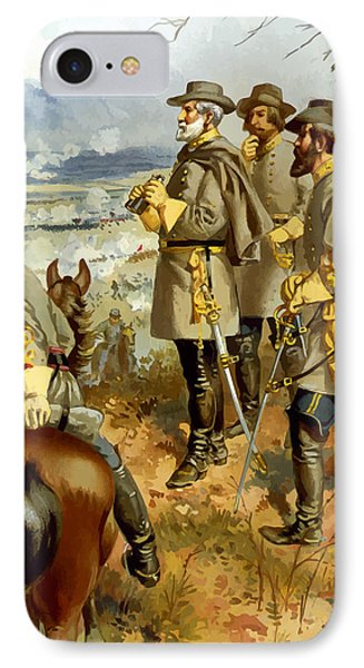 General Lee At The Battle Of Fredericksburg Phone Case by War Is Hell Store
