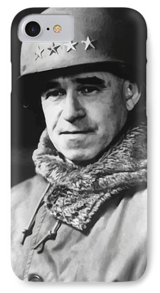 General Omar Bradley Phone Case by War Is Hell Store