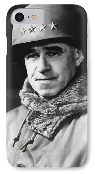 General Omar Bradley IPhone Case by War Is Hell Store