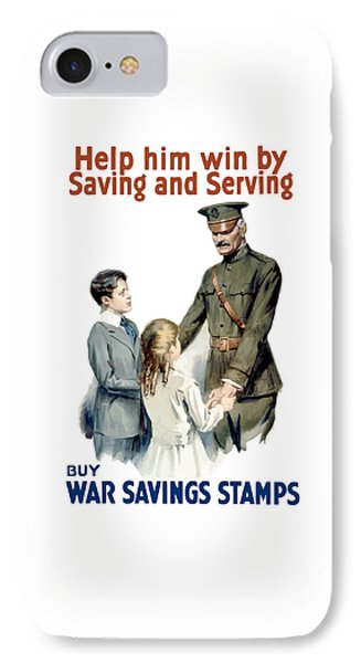 General Pershing - Buy War Saving Stamps Phone Case by War Is Hell Store