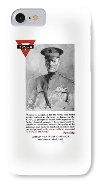 General Pershing - United War Works Campaign Phone Case by War Is Hell Store