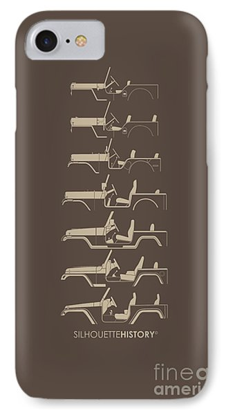 General Purpose Silhouettehistory IPhone Case by Balazs Iker