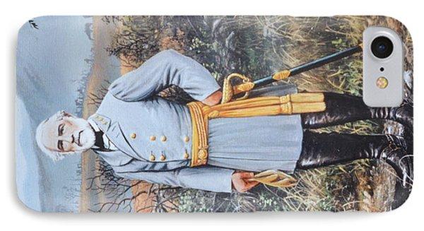 General Robert E. Lee IPhone Case by Michael Wawrzyniec