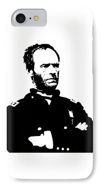 General Sherman Phone Case by War Is Hell Store