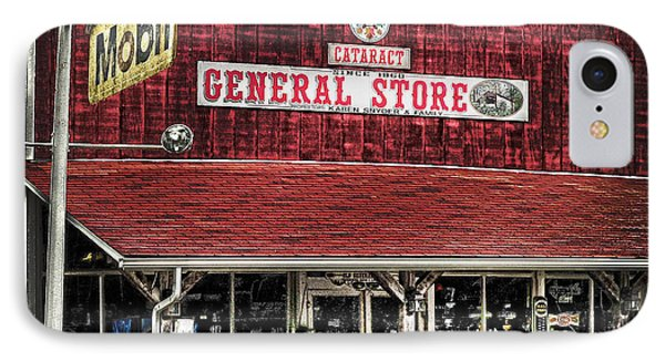 General Store Cataract In. IPhone Case by Randall Branham