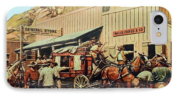 General Store IPhone Case by Susan Leggett