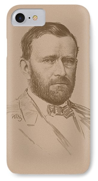 General Ulysses S Grant IPhone Case by War Is Hell Store