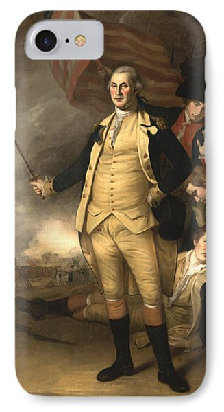 General Washington At The Battle Of Princeton IPhone Case by War Is Hell Store
