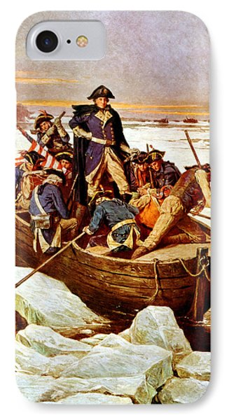 General Washington Crossing The Delaware River Phone Case by War Is Hell Store