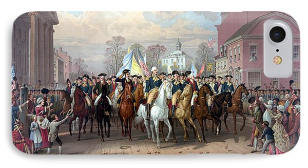 General Washington Enters New York IPhone Case by War Is Hell Store