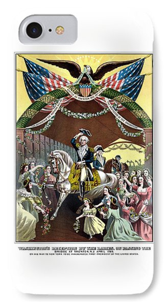 General Washington's Reception At Trenton Phone Case by War Is Hell Store