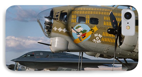 Generations B-17 And B-2 Phone Case by John Clark