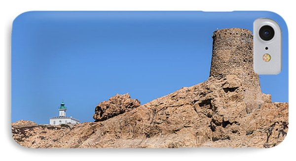 Genoese Tower L'ile Rousse - Corsica IPhone Case