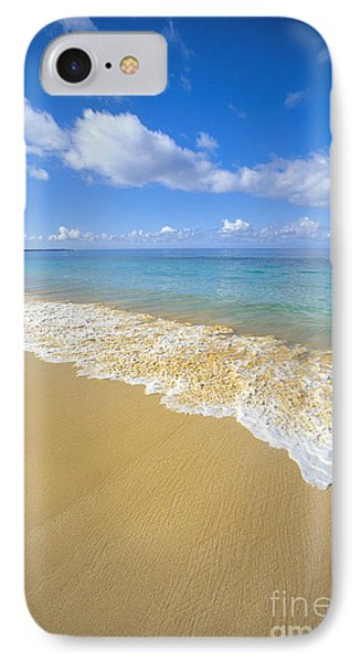 Gentle Waves Rolling Phone Case by Carl Shaneff - Printscapes