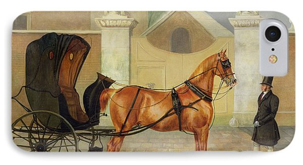 Gentlemen's Carriages - A Cabriolet IPhone Case by Charles Hancock