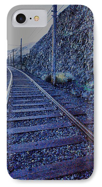 IPhone Case featuring the photograph Gently Winding Tracks by Jeff Swan