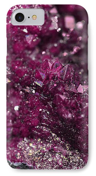 Geode Abstract Raspberry IPhone Case