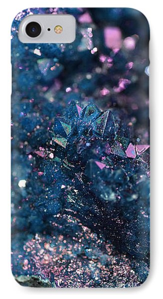 Geode Abstract Teal IPhone Case