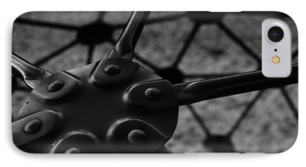 IPhone Case featuring the photograph Geodome Climber 2 by Richard Rizzo
