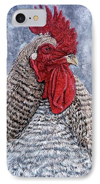 IPhone Case featuring the painting Geoff by Tom Roderick