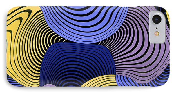Geometric Gymnastic - 046ac1 IPhone Case by Variance Collections