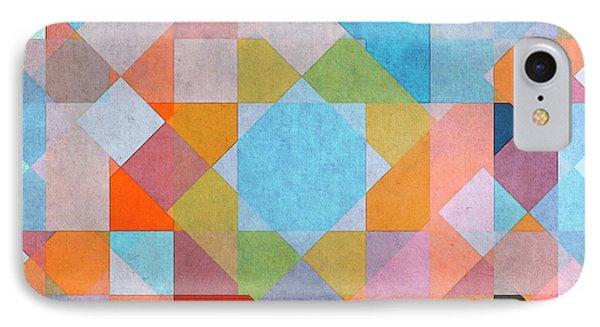 IPhone Case featuring the digital art Geometry by Jutta Maria Pusl