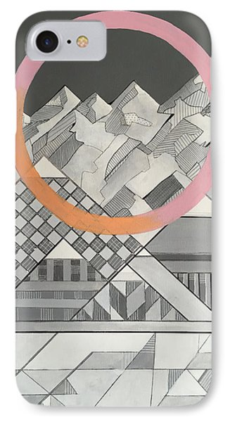Geometry's Mountain IPhone Case by Sara Cannon
