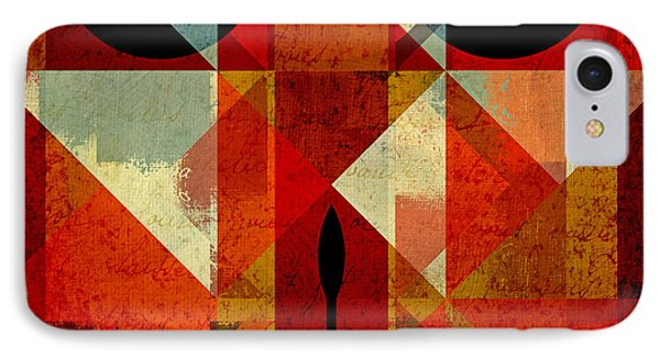 Geomix-04 - 39c3at22g Phone Case by Variance Collections
