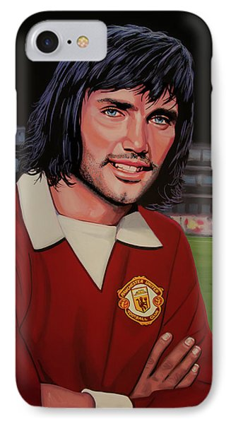 George Best Painting IPhone Case