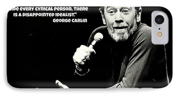 George Carlin Art  IPhone 7 Case