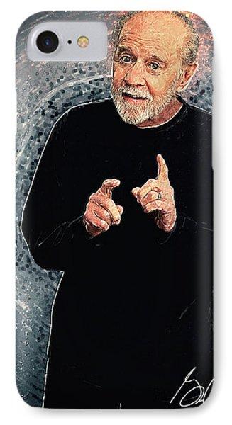George Carlin IPhone Case