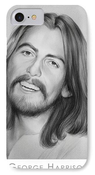 George Harrison IPhone Case by Greg Joens