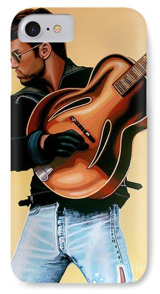 George Michael Painting IPhone Case by Paul Meijering