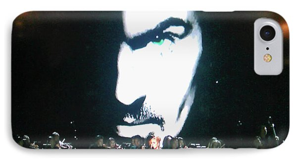 IPhone Case featuring the photograph George Michael's Eye Appeal by Toni Hopper