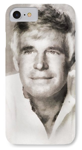 George Peppard, Actor IPhone Case by John Springfield