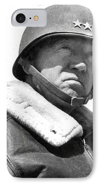 George S. Patton Unknown Date IPhone Case by David Lee Guss