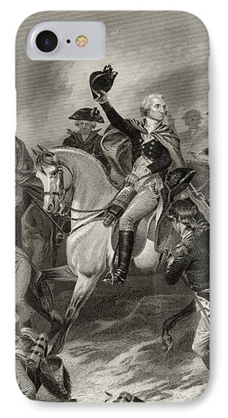 George Washington 1732 To 1799 At The IPhone Case by Vintage Design Pics
