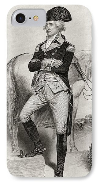 George Washington 1732 To 1799 In 1775 IPhone Case by Vintage Design Pics